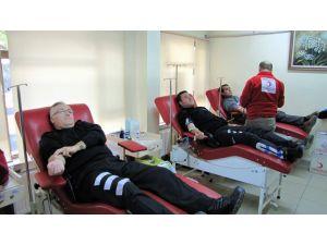 Toplum Destekli Polisden kan bağışı desteği