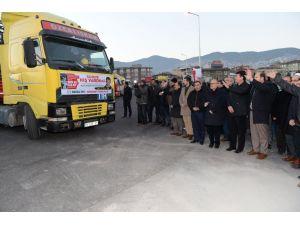 Suriyeli Türkmenler için 16 Yardım TIR'ı yola çıktı