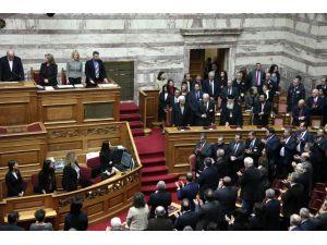Abbas, Filistin'i tanıyan Yunan Parlamentosu'na hitap etti