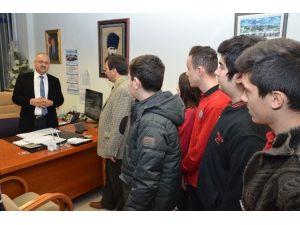 Yavuz Selim Öğrencileri Belediyede