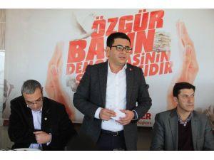 CHP Merkez İlçe Başkanı Türker Basınla Buluştu
