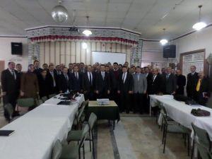 """Bolvadin'de """"Bekap"""" Tanıtım Toplantısı Yapıldı"""