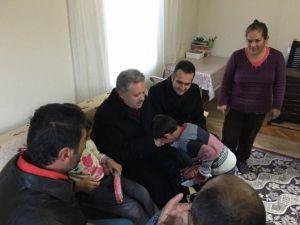 Vali Kahraman, Engelli Vatandaşlara Ev Yaptırdı