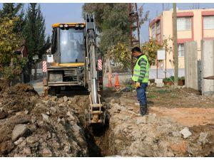 Çekmece Mahallesi'ne kanalizasyon hattı yapıldı