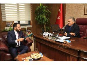 MÜSİAD Kayseri Şube Yönetimi Melikgazi'de