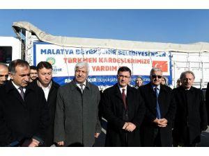 Büyükşehir Belediyesinden, Türkmenlere Gıda Yardımı