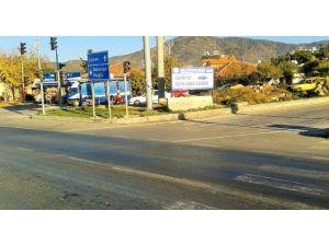 Büyükşehir, Fethiye'de Kaçak Hafriyat Dökümünün Önüne Geçiyor
