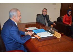 OGC yönetiminden Başkan Kara'ya ziyaret