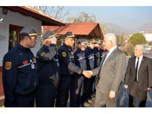 Başkan Gürün, İtfaiye Grup Amirleriyle Bir Araya Geldi