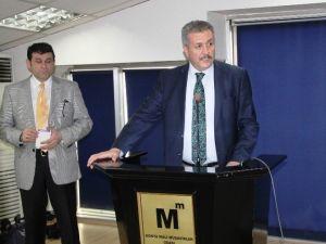 Konya SMMMO'da Mesleki Eğitim Faaliyetleri Seminerlerle Sürüyor