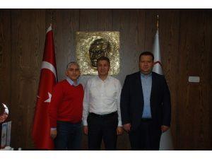 Başkan Koç'tan, TP Genel Müdürü Şişman'a Ziyaret