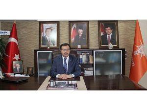 AK Parti İl Başkanı Şahin'den Mevlid Kandili Mesajı