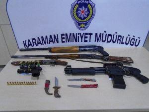 Karaman'da Kurşunlama Olaylarına Karışan Altı Kişi Yakalandı
