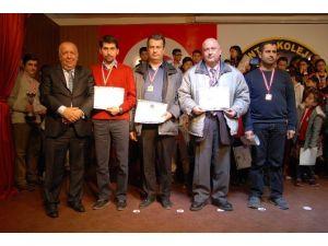 12. GKV 25 Aralık Kurtuluş Satrancı Turnuvasının Ödül Töreni