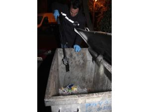 Çöp Konteyneri İçinde Silah Ele Geçti