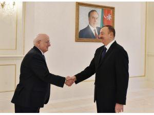 Cumhurbaşkanı Aliyev, Meclis Başkanı Kahraman'ı kabul etti