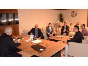 Çinli yatırımcılardan Başkan Baysan'a ziyaret
