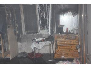 Gebze'de Evde Çıkan Yangın Paniğe Neden Oldu