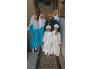Hanımefendi Muhsine Kahraman 'Dan Kız Kur'an Kursuna Kandil Ziyareti