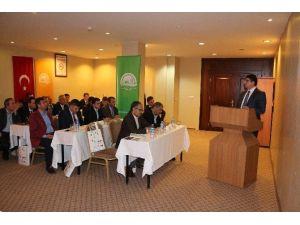 TKDK Erzurum İl Koordinatörlüğü, Ipard Iı Programını Erzurum İl Gıda Tarım Ve Hayvancılık Müdürlüğü Yöneticileriyle Paylaştı