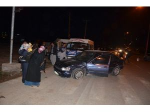 Kahta'da Zincirleme Trafik Kazasında 4 Kişi Yaralandı