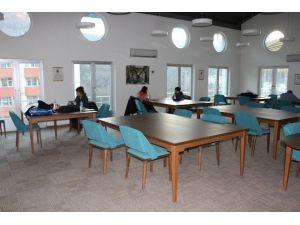 Muzaffer Tayyip Uslu Çalışma Salonu, İbn-i Sina Kampusunde Hizmete Girdi