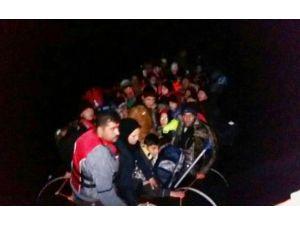 Antalya'da 58 Göçmen Kurtarıldı