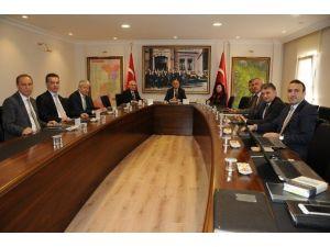 Edirne Valisi Şahin Trakya Kalkınma Ajansı Yönetim Kurulu'na Veda Etti