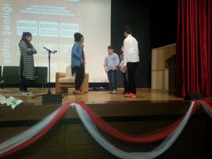 Yıldırımhan Okulları'nda tiyatro günleri