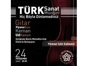 Tekirdağ'da Türk Sanat Müziği Akustik Band Konseri Düzenlenecek
