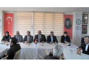 Akşehir Heyetinden Antalya Konyalılar Derneği'ne Ziyaret
