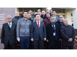 AK Parti'lilerden CHP'li Erdem'e Suç Duyurusu