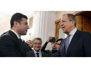 Demirtaş, Lavrov İle Görüştü