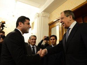 Demirtaş, Rus Dışişleri Bakanı Lavrov ile görüştü
