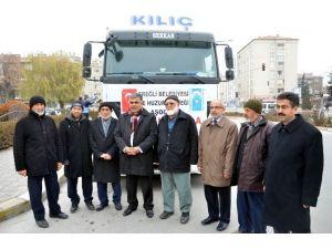 Ereğli'den Bayır-bucak Türkmenleri'ne Yardım