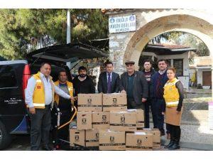 Bodum'dan Bayırbucak Türkmenlerine Yardım