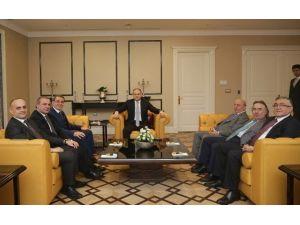 """Samsun TSO'dan Milletvekillerine """"Hayırlı Olsun"""" Ziyareti"""