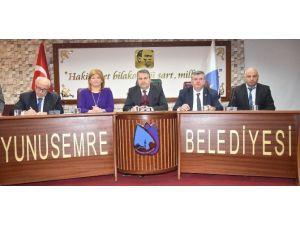 Başkan Çerçi, Kamu Kurumlarının Temsilcileri İle Görüştü