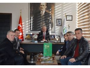 Trakya Birlik'ten Başkan Albayrak'a Ziyaret