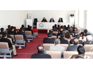 Adıyaman'da, Şap Virüsüyle Alakalı Toplantı Düzenlendi