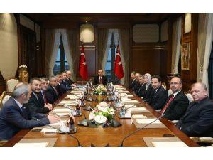 Meclis Başkanı Kahraman Ve Başkanlık Divanı Üyeleri Beştepe'de