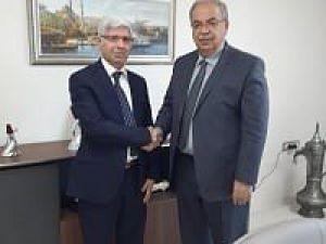 TYB Adıyaman Şube Başkanı Uluçay'dan, Başkan Kutlu'ya Ziyaret Etti