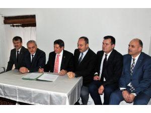 İl Özel İdare Çalışanlarına Yönelik Sosyal Denge Tazminatı Sözleşmesi İmzalandı