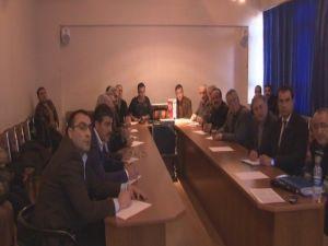 Oda Başkanlarına Yönelik Bilgilendirme Toplantısı Yapıldı