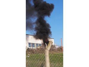 Hastane Civarında Yakılan Ateş Korkuttu