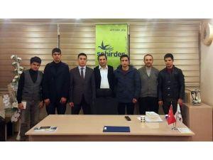 Erzurum Gençlik Meclisi Şehirder'i Ziyaret Etti