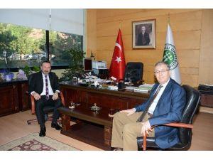 Başkan Doğan'dan Tıp Fakültesi Başhekimine Ziyaret