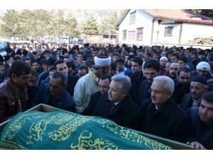 Vali Kahraman Mustafa Karakoç Cenaze Törenine Katıldı