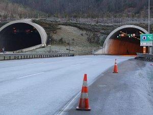 Bolu Dağı Tüneli 8 saat trafiğe kapatıldı