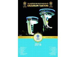 Palandöken Belediyesinin Beklenen 2016 Yılı Şehir Takvimi Çıktı
